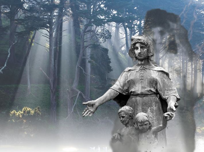 The Legend of the Stow Lake Lady