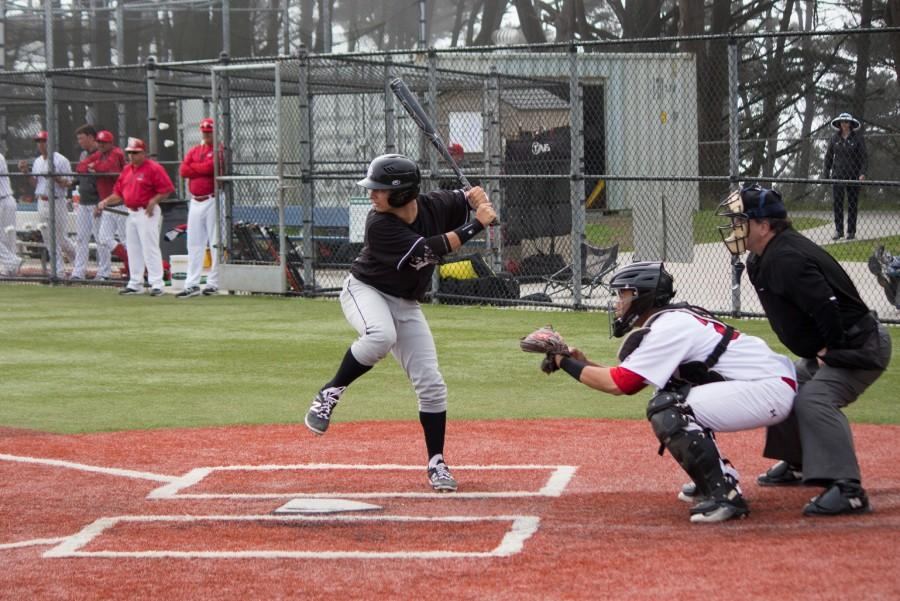 Skyline struggles against city college of san francisco in late innings the skyline view for Garden city community college baseball