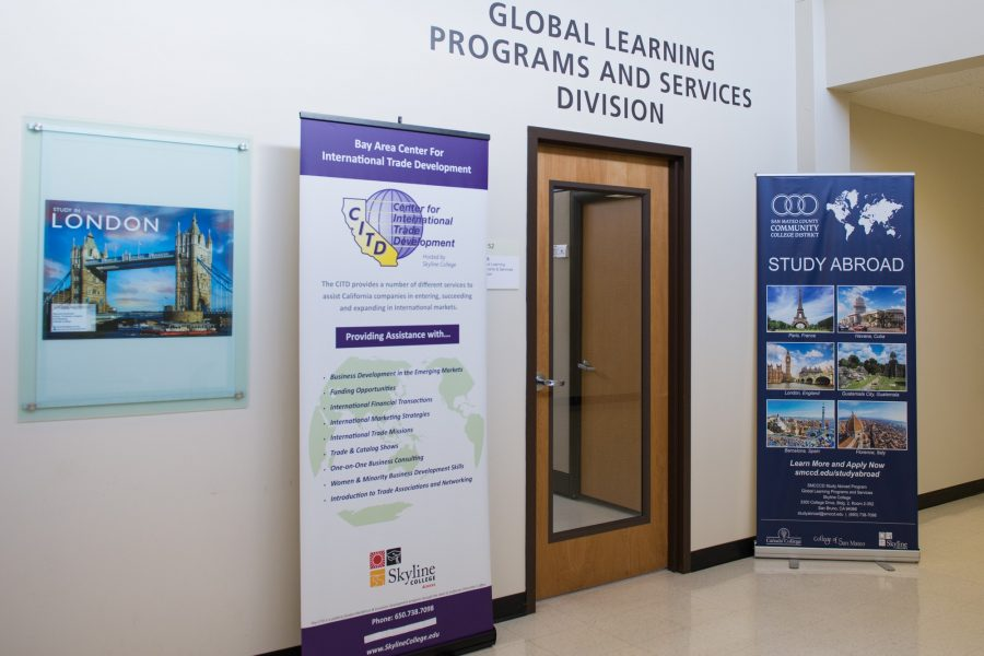 The+Global+Learning+Programs+and+Services+Division+offices++is+located+on+the+third+floor+of+building+two+for+students+who+are+interested+in+studying+abroad+on+April+20%2C+2016.