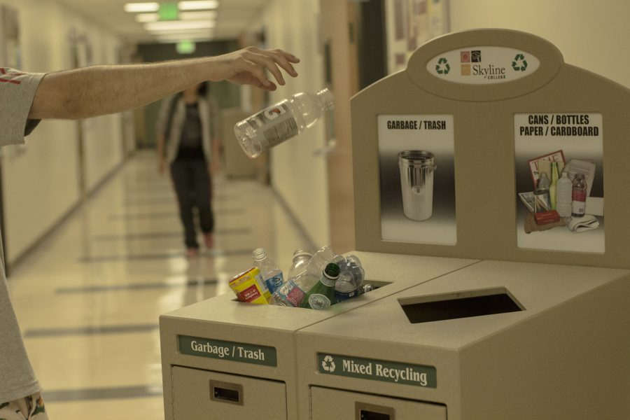 Students+tend+to+forget+the+importance+of+recycling+on+campus+and+often+waste+reusable+materials.