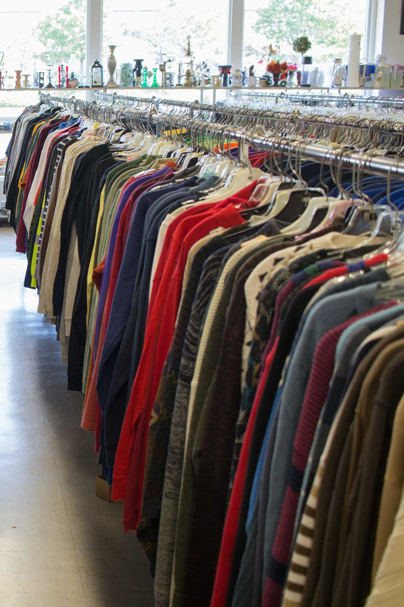 Thrift shopping is a great way to customize styles in addition to saving money.