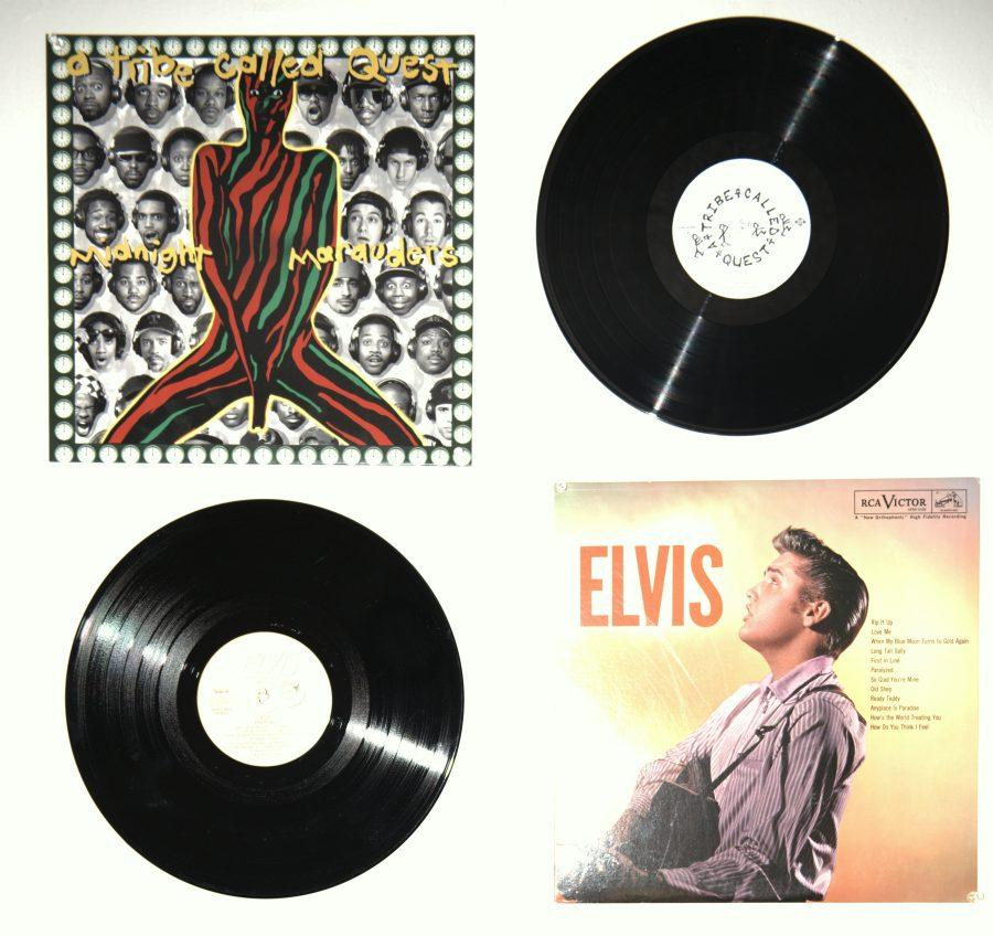 Not+only+are+collectors+purchasing+retro+vinyls%2C+record+labels+are+reissuing+old+classic+vinyls+for+repurchase.+Photo+credit%3A+Kevin+Perez