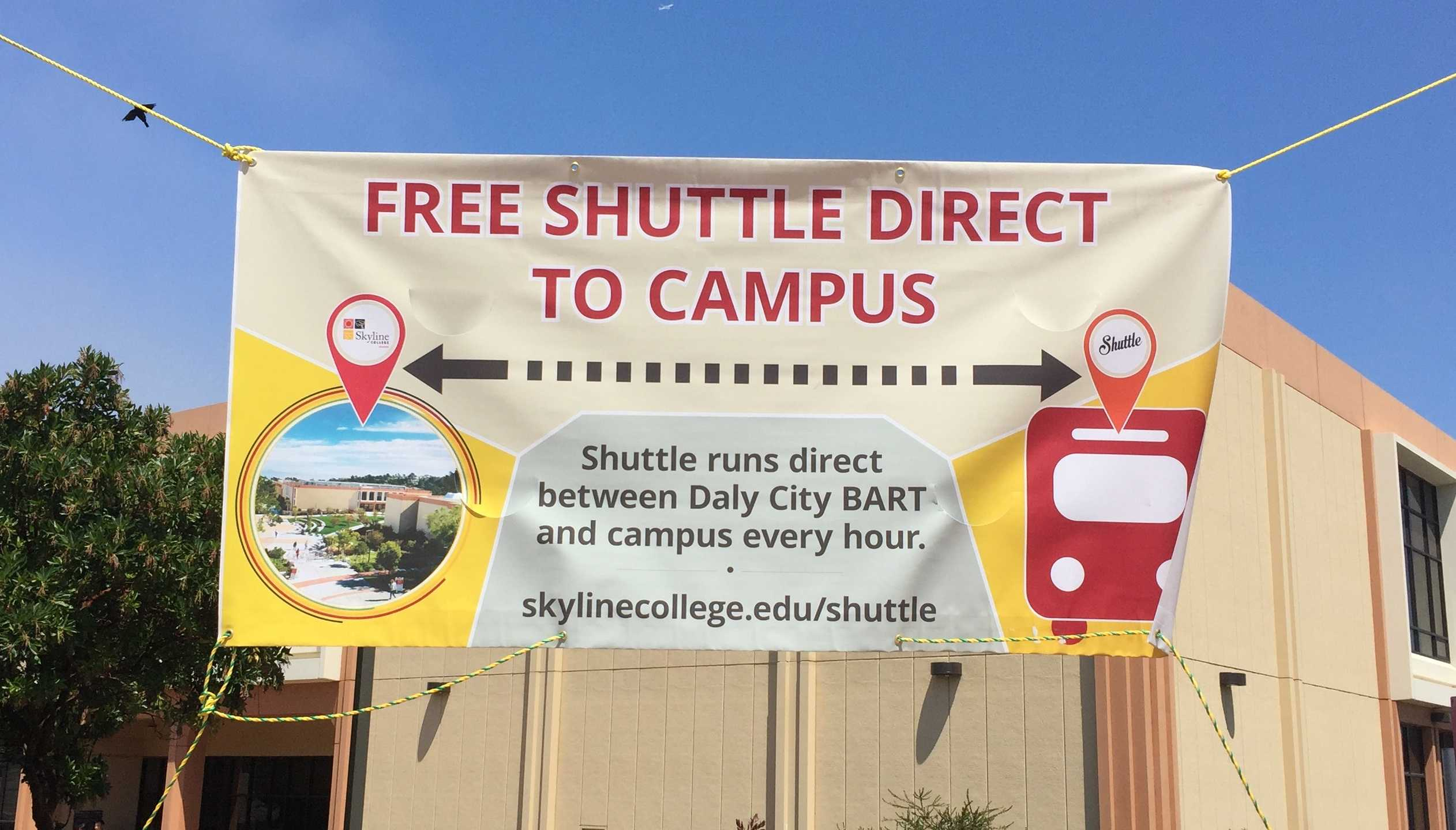 Skyline implements a new, free method of transportation for students to get to school.