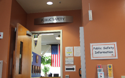 The Public Safety Office at Skyline College, inside building 6.
