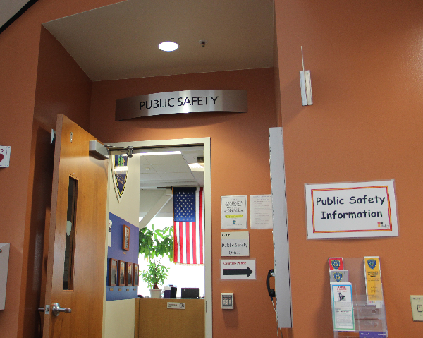 The Public Safety Office At Skyline College Inside Building 6