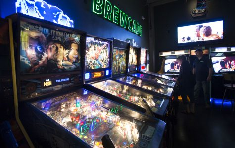 Old school arcade remastered with local breweries