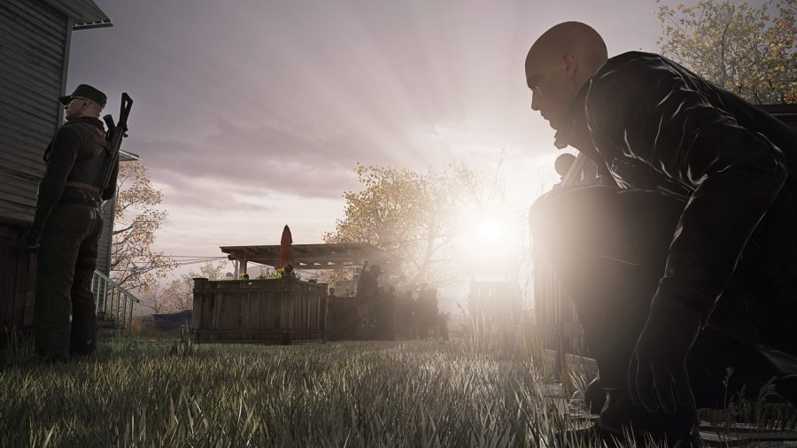 Agent+47+goes+in+for+the+assassinate%2C+taking+advantage+of+the+shadows+instead+of+going+guns+blazing.+Photo+credit%3A+Courtesy+of+Square+Enix