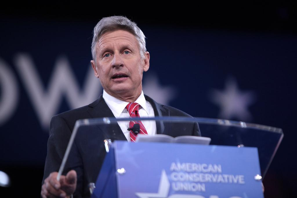 Former governor of New Mexico, Gary Johnson has mostly remained under the media's radar in this presidential election. Photo credit: Creative Commons