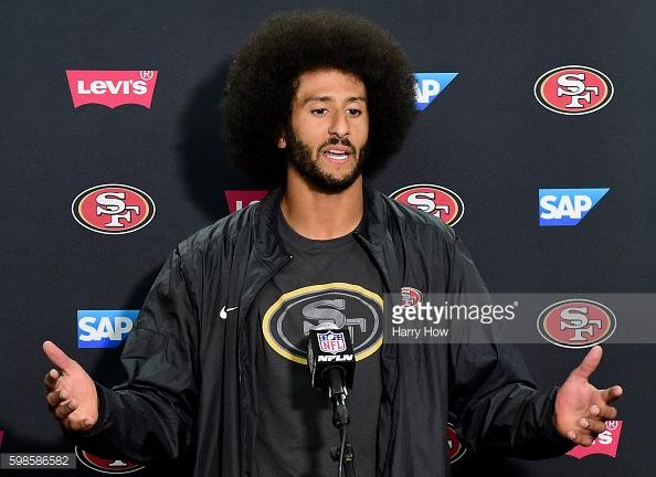 Colin Kaepernick sits out on the election