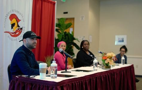 Professor Mohammed Mustafa Popal,  Kalimah Salahuddin, Sameena Usman discuss current issues surrounding the travel ban affecting the United States and the Muslim Community.