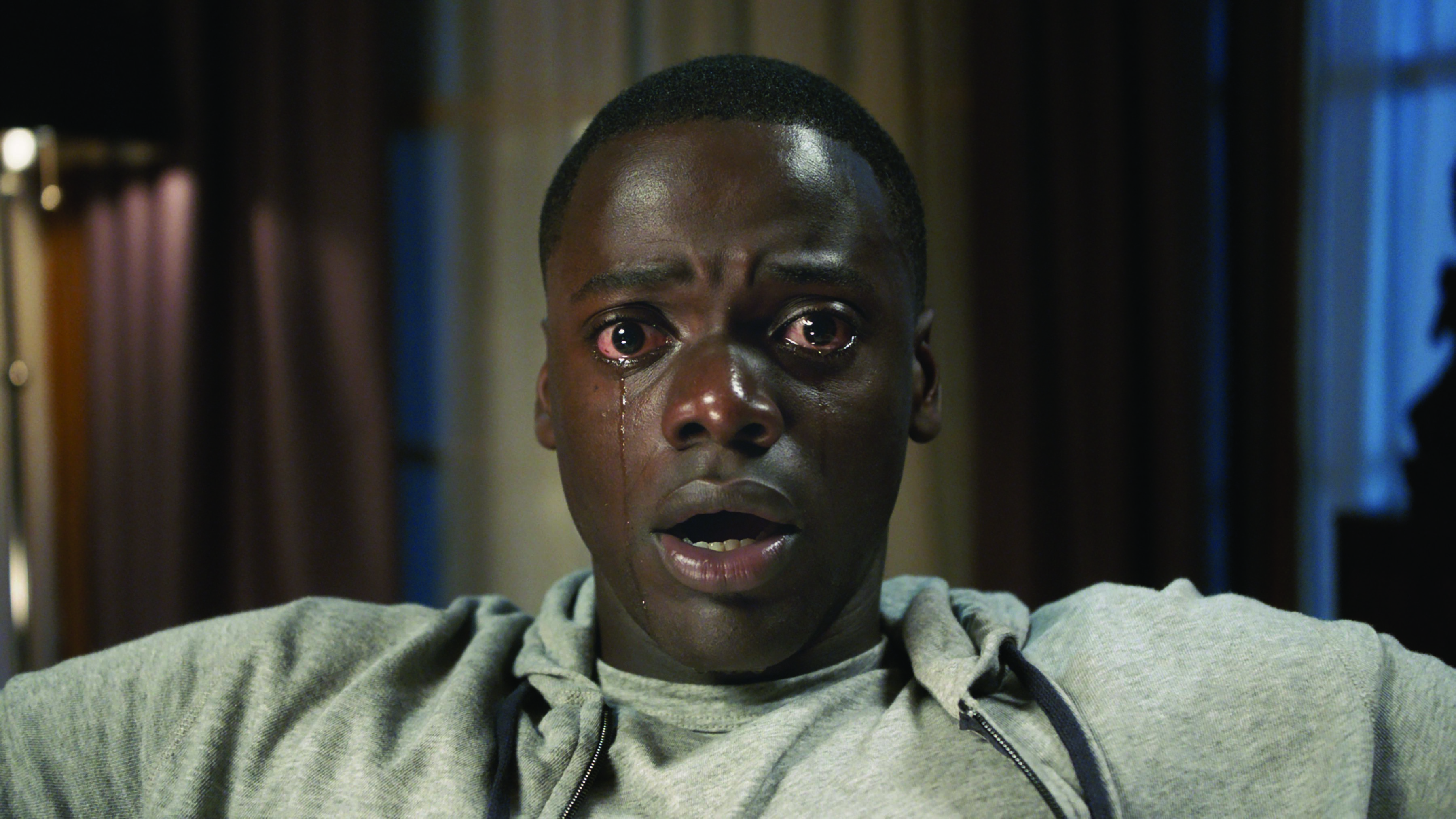 "Daniel Kaluuya as Chris Washington in Universal Pictures' ""Get Out,"" a speculative thriller from Blumhouse and the mind of Jordan Peele. Photo Credit Universal Pictures."