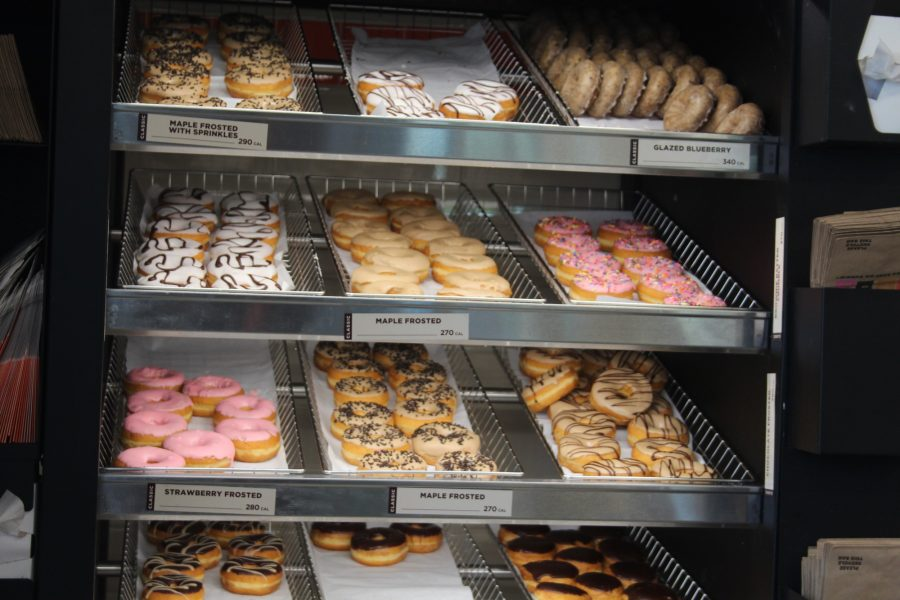 Dunkin+Donuts+have+a+big+assortment+of+donuts+available+for+order.