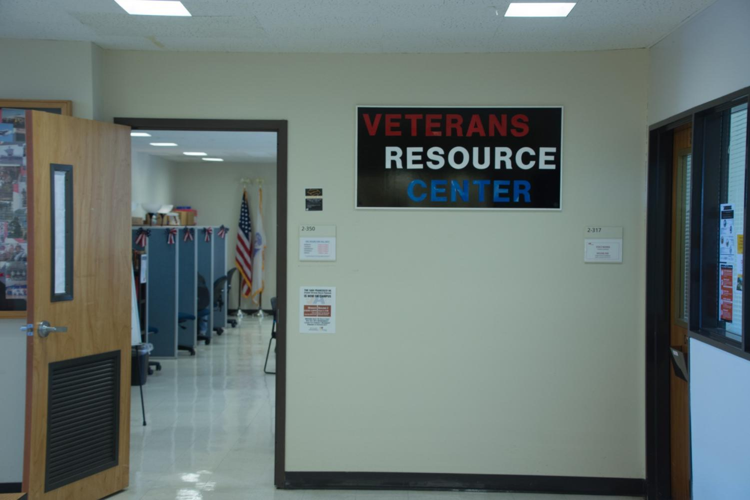 The Veterans Resource Center at Skyline College. Photo credit: Mark David Magat
