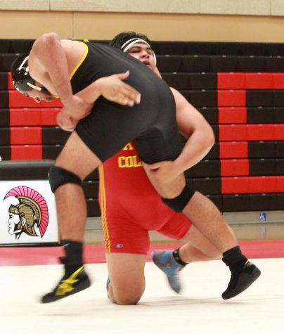 Trojans Wrestling falls to Chabot College