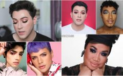 Men wearing makeup in the media