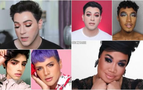 From left to right: Manny MUA, Antonio Beauty, Kendrick Rojas, Gabriel, and Patrick Starrr.