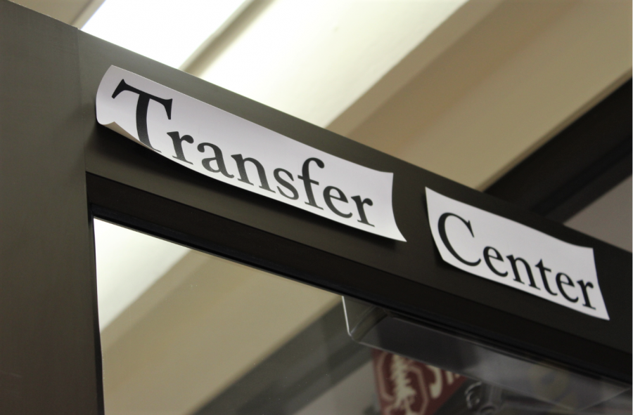 The transfer center in building 2.
