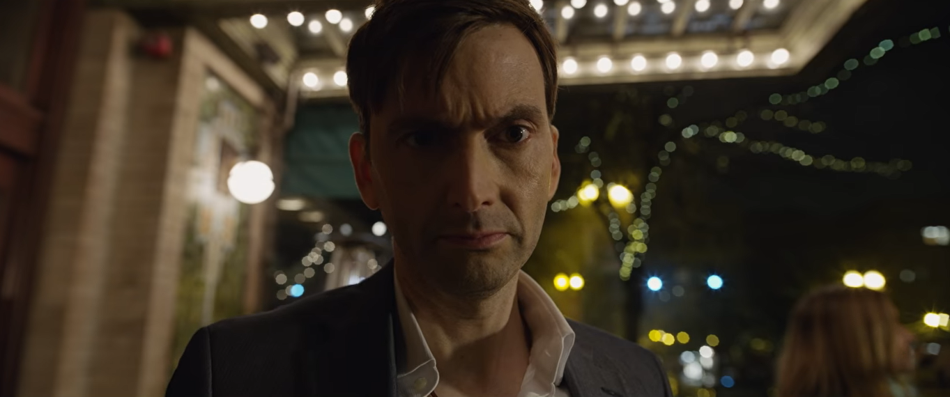 David Tennant as Cale in,