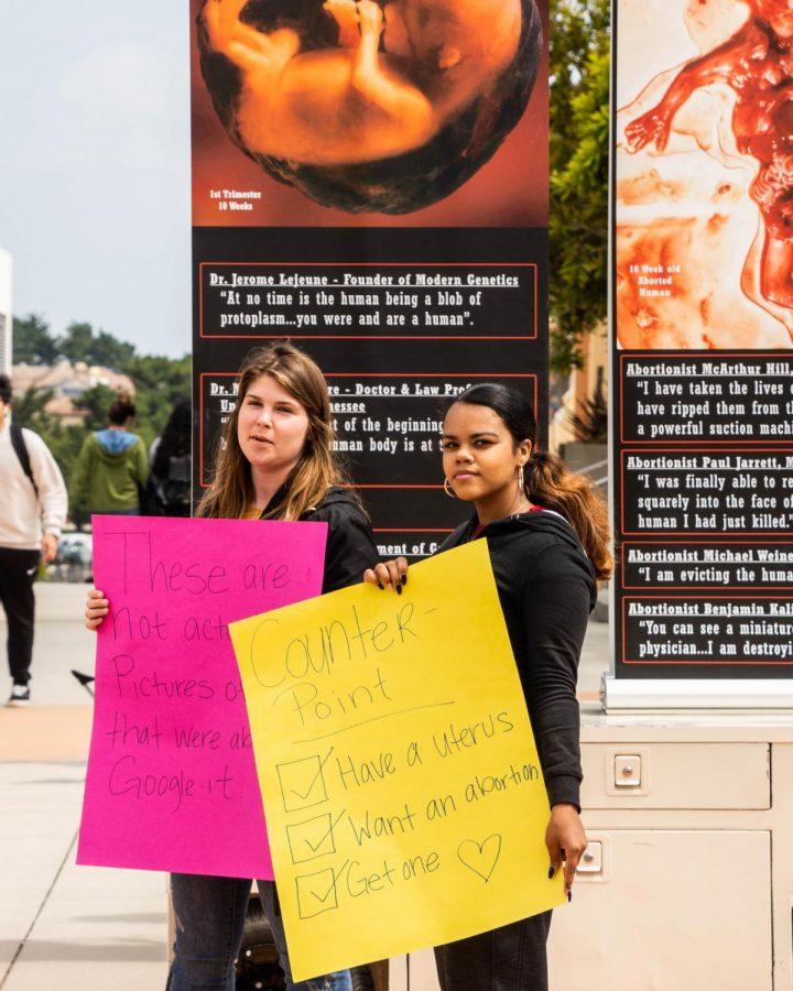 Anti-abortion group on campus reignites free speech debate