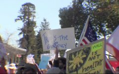 Trump's National Emergency Protested in San Mateo