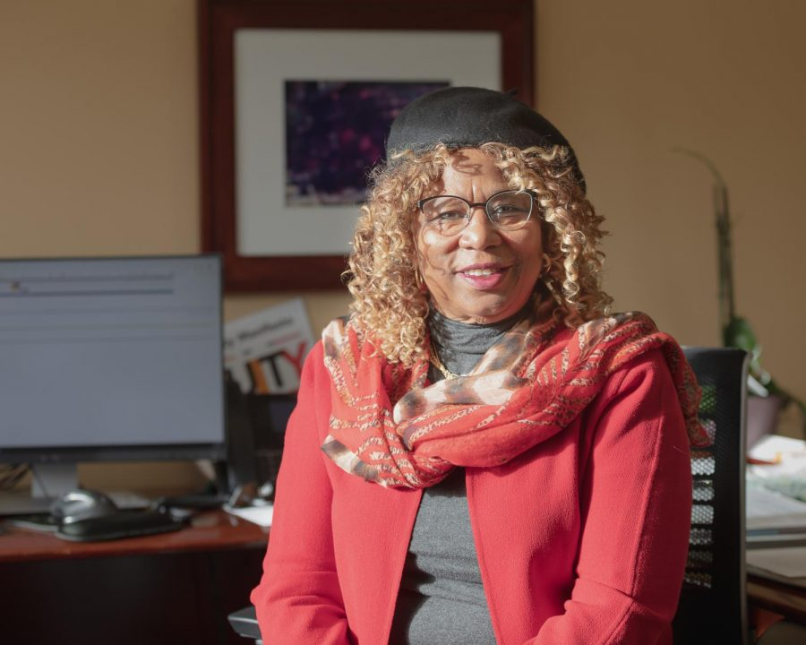 Skyline College's  President, Dr. Jannett Jackson poses for a picture for The Skyline View on Feb. 30, 2020