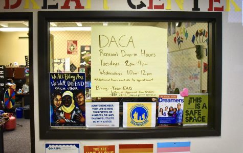 Taken on Feb. 25, The Dream Center is available weekdays to answer questions and provide support for undocumented students.