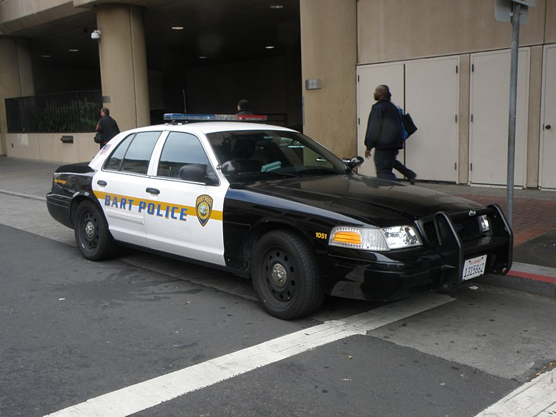 Ford Crown Victoria BART Police is seen here in this image on 29. June 2012