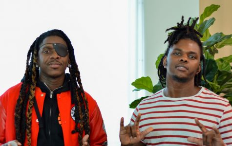 Gunna Goes Global (left) and Stunnaman02 (right) are here seen at Skyline College for
