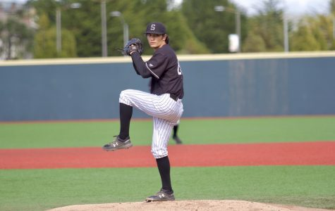 Cole Sowyrda went six innings giving up two runs & seven baserunners