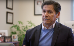 California Community Colleges Chancellor Eloy Oakley Ortiz in the film Unlikely.