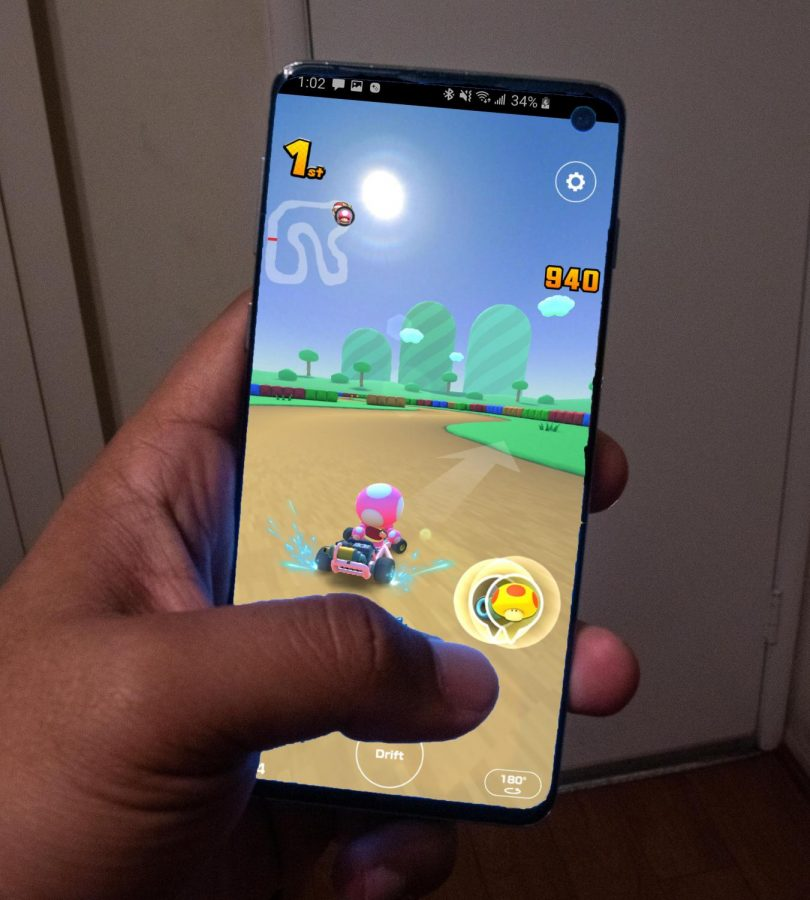 Mario+Kart%3A+Racing+On+Your+Phone
