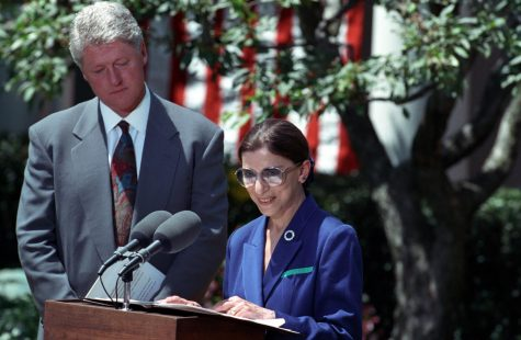 Announcement of Ruth Bader Ginsburg as Nominee for Associate Supreme Court Justice at the White House.