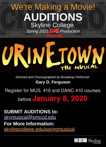 Spring musical 2021 audition extended till Jan. 8