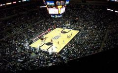 The San Antonio Spurs play the Chicago Bulls at the AT&T Center in San Antonio.