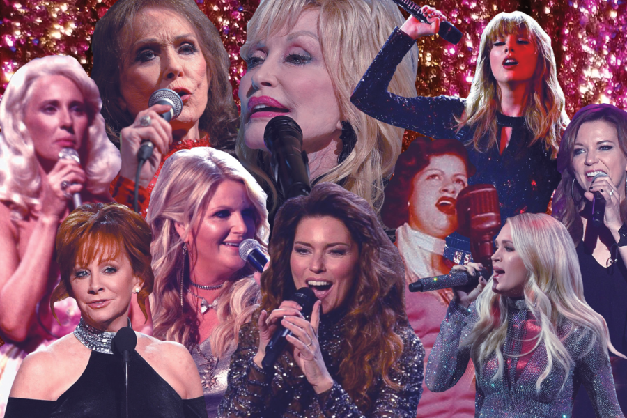 A compilation of the women who have graced Country Radio through the years.