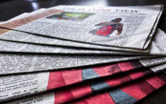 When was the last time you got a newspaper from the stands?