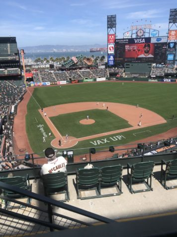 Giants fans have returned to Oracle Park, and while capacity may be limited the spirit remains