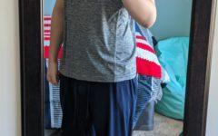 An obligatory mirror selfie showing my progress. (The Skyline View/Marco Milani)