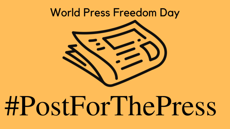 #PostForThePress is a trending topic on Twitter for World Press Freedom Day