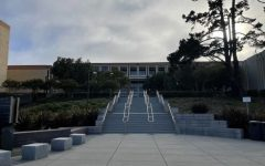 The Skyline College campus remains empty during the fall semester.