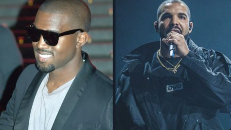 Kanye West and Drake both released albums within the same week of each other, drawing comparison.